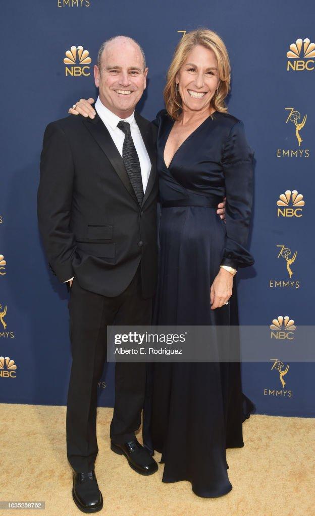 President Of CBS Television Studios David Stapf And Tami