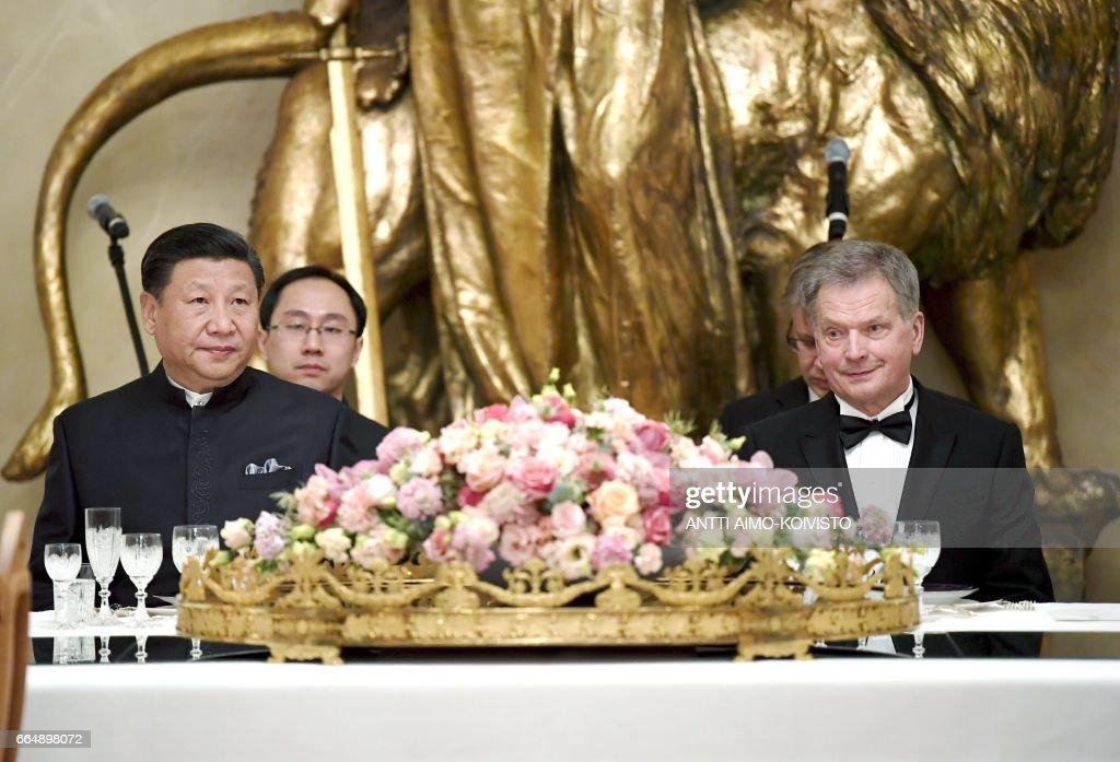 FINLAND-CHINA-DIPLOMACY : News Photo