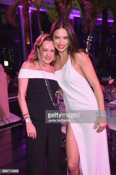 President of Chopard Caroline Scheufele and Adriana Lima attend Creatures Of The Night LateNight Soiree Hosted By Chopard And Champagne Armand De...