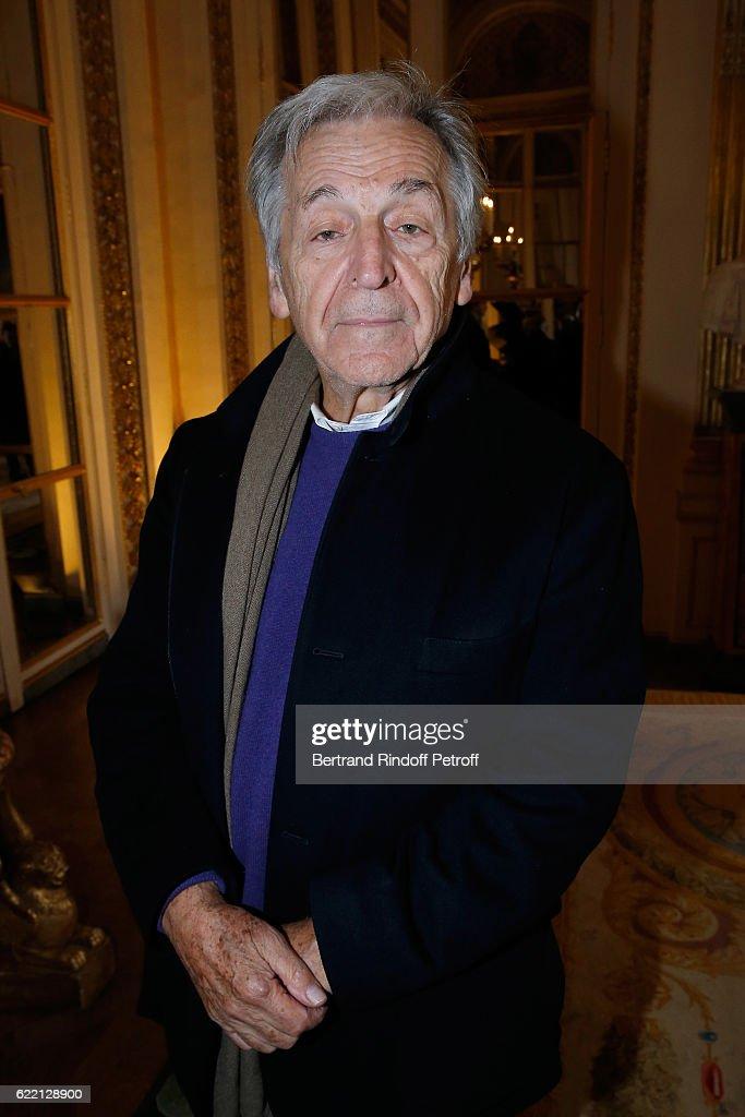 Lalo Schifrin Decoreted at Ministere de la Culture in Paris