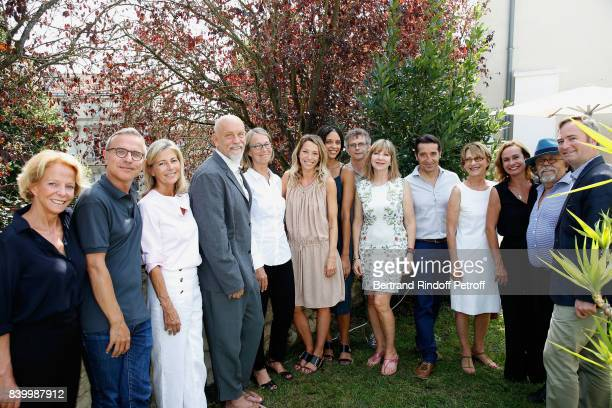 President of CNC Frederique Bredin Jury Philippe Besson Claire Chazal President of the Jury John Malkovich Minister of Culture Francoise Nyssen Laura...