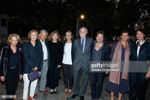 President of CNC Frederique Bredin Marie Dabadie President of Cinematheque Francaise Constantin CostaGavras Actress Aurore Clement Minister of...