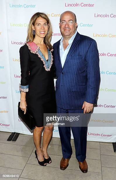 President of CNN Worldwide Jeff Zucker and wife Caryn Zucker attend the 2016 American Songbook Gala at Alice Tully Hall Lincoln Center on February 11...