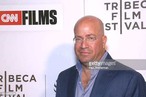 President of CNN Worldwide Jeff Zucker at CNN Films Jeremiah Tower The Last Magnificent at TFF Panel Party on April 16 2016 in New York City...