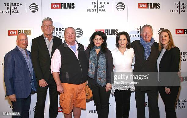 President of CNN Worldwide Jeff Zucker Executive Producer Anthony Bourdain Chef Mario Batali Director Lydia Tenaglia Executive Producer Amy Entelis...