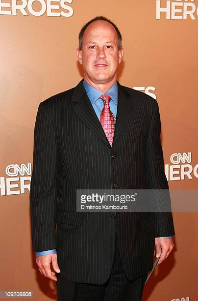 President of CNN Worldwide Jim Walton attends CNN Heroes An AllStar Tribute a live global broadcast honoring everyday heroes at the American Museum...