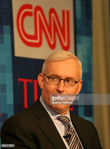 President of CNN/US Jon Klein speaks during Time Warner's Political Conference 2008 at the Time Warner Center on October 13 2008 in New York City