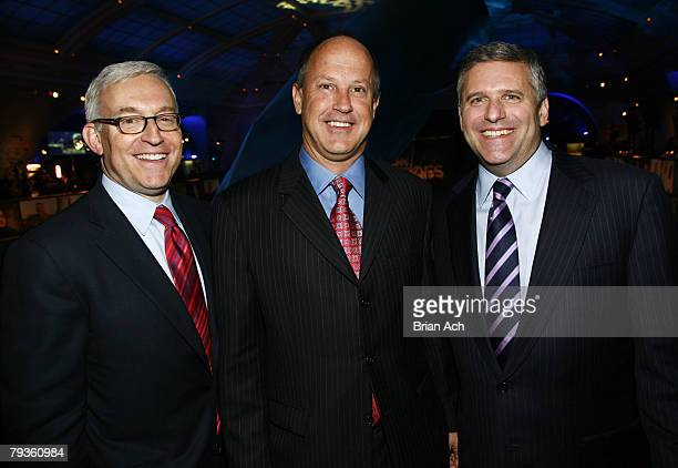 President of CNN/US Jonathan Klein President of CNN Worldwide Jim Walton and Chairman and CEO of Turner Broadcast System Phil Kent attend the...