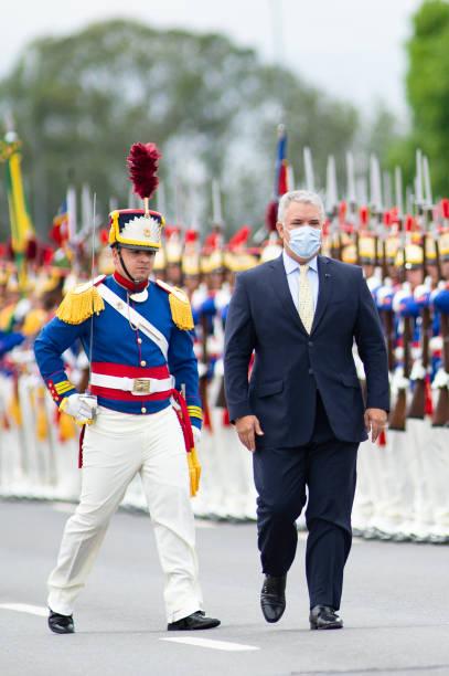 BRA: Bolsonaro Meets Ivan Duque in Brasilia