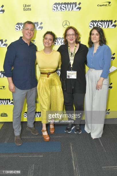 President of Comedy Central Paramount Network and TV Land Kent Alterman actress Ilana Glazer SXSW director of film Janet Pierson and actress Abbi...