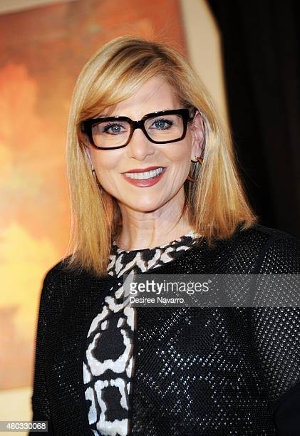 President of Conde Nast Entertainment Dawn Ostroff attends 34th Annual New York Women In Film And Television Muse Awards at New York Hilton Midtown...