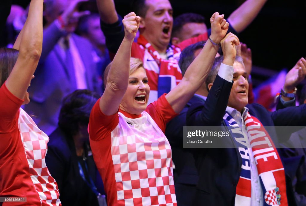 France v Croatia - Davis Cup Final: Day Three : News Photo
