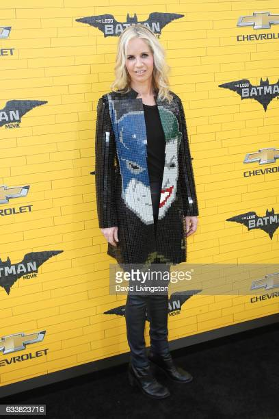 President of DC Entertainment and President of Warner Bros Consumer Products Diane Nelson attends the Premiere of Warner Bros Pictures' 'The LEGO...