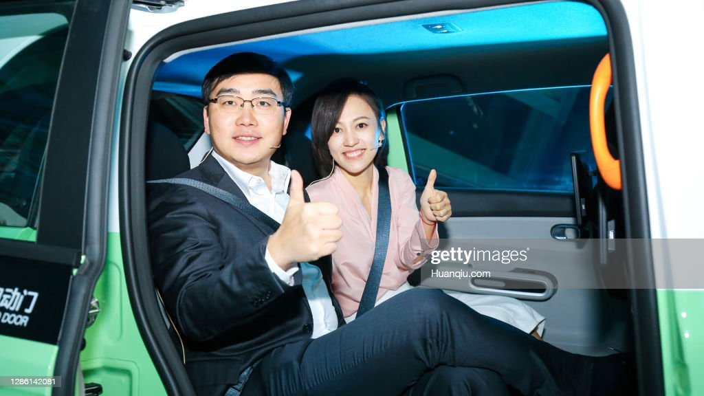 Didi Chuxing Launches D1 Electric Vehicle In Beijing : News Photo