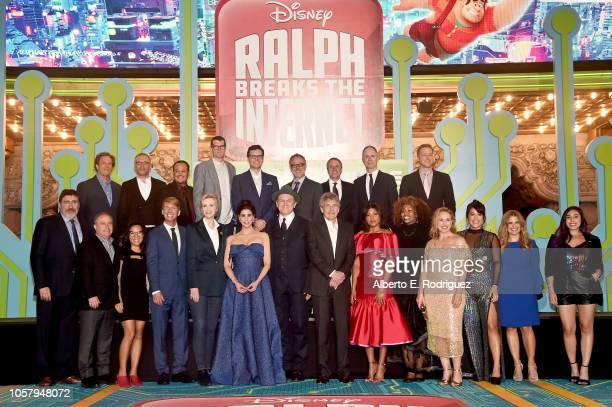 President of Disney Animation Andrew Millstein Composer Henry Jackman Raymond S Persi Actor Timothy Simons Director/Screenwriter Phil Johnston...