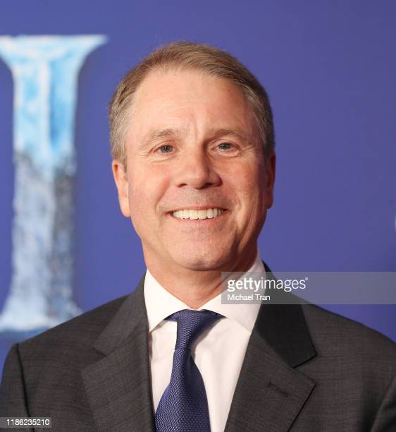 President of Disney Animation Studios Clark Spencer attends the world premiere of Disney's Frozen 2 held at Dolby Theatre on November 07 2019 in...
