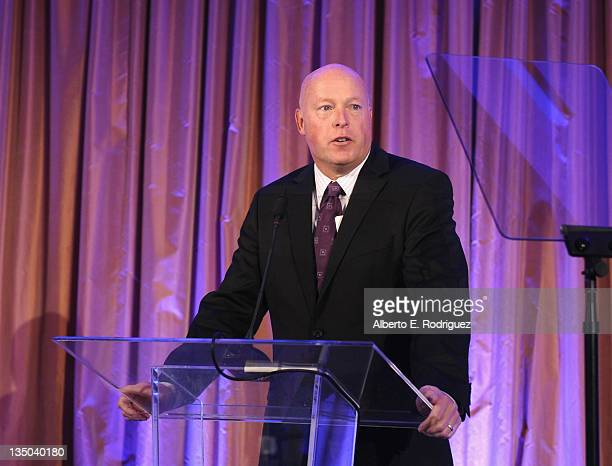 President of Disney Consumer Products Bob Chapek attends the Variety Home Entertainment Hall of Fame Gala at The Beverly Hills Hotel on December 5...