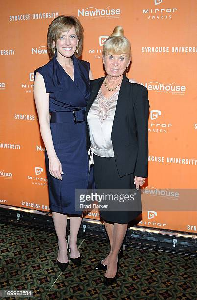 President of Disney/ABC Anne Sweeney and Kari Clark attend the 2013 Newhouse Mirror Awards at Cipriani 42nd Street on June 5 2013 in New York City