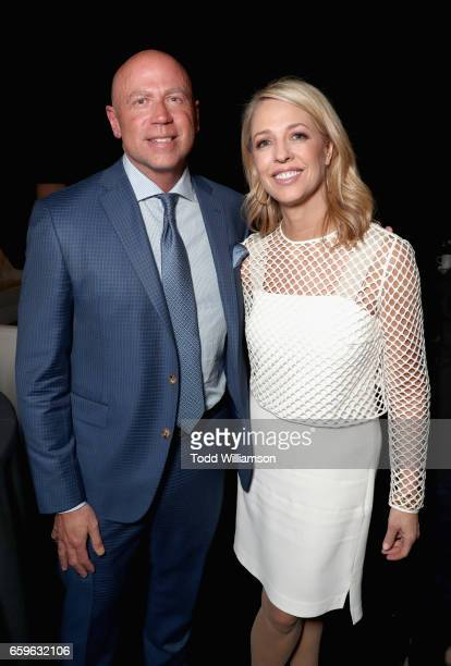 President of Domestic Distribution at Paramount Kyle Davies and Nickelodeon Group Chief Marketing Officer and President of Consumer Products Pam...