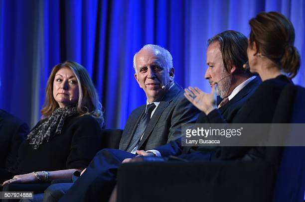 President of Dwell Media Michela O'Connor Abrams New York Magazine Publisher Larry Burstein Paul Rossi President of Global Media Business at The...
