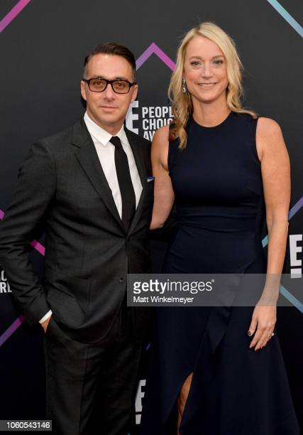 President of E Entertainment Adam Stotsky and Marketing Executive Producer of Live Events for E Entertainment EVP Jen Neal attend the People's Choice...