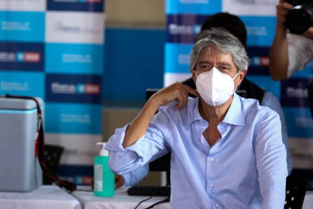 ECU: President Lasso Receives Coronavirus Vaccine