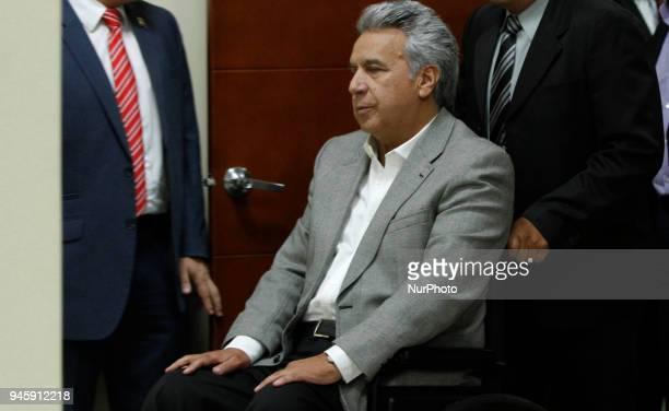 President of Ecuador Lenin Moreno confirmed the murder of journalist Javier Ortega photographer Paúl Rivas and driver Efraín Segarra of El Comercio's...
