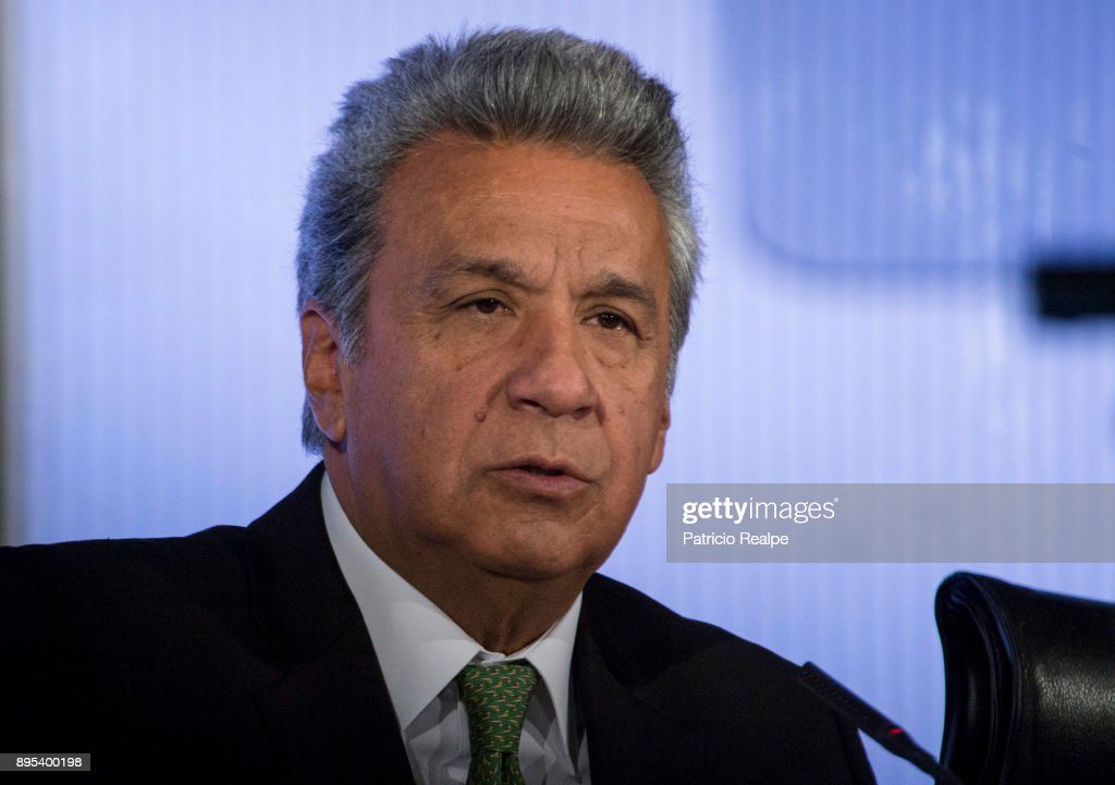 President of Ecuador Lenin Moreno Visits Spain : News Photo
