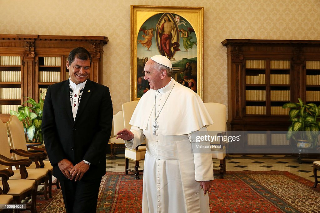 Pope Francis Meets President of the Republic of Ecuador