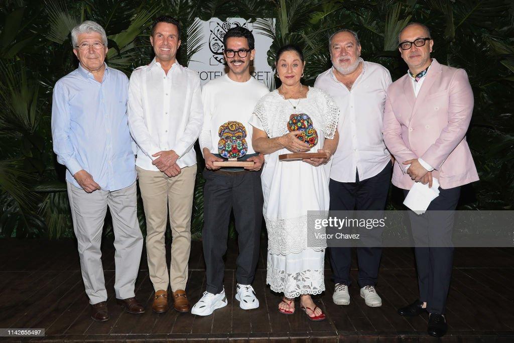 Hotel Xcaret Awards Angelica Aragon and Manolo Caro : Fotografia de notícias