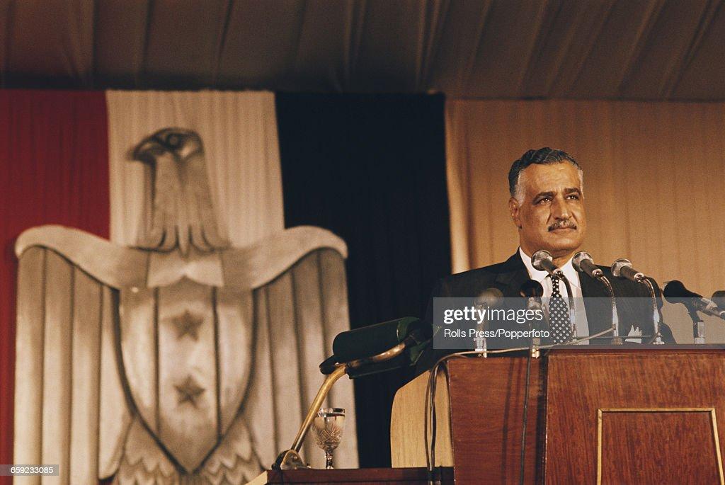 President Nasser : News Photo