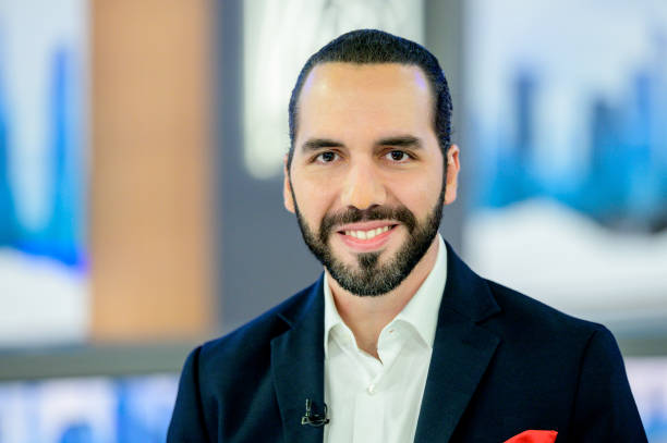 """President Of El Salvador Nayib Bukele visits """"The Story With Martha MacCallum"""" at Fox News Channel Studios on September 26, 2019 in New York City."""