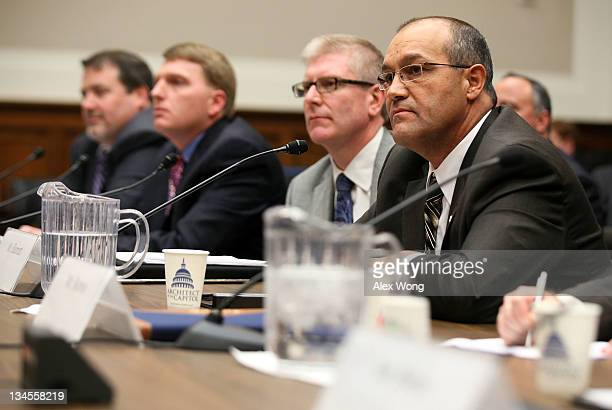 President of Energy and Oil Pipelines of TransCanada Corporation Alex Pourbaix Director of the Construction Department of Laborers' International...