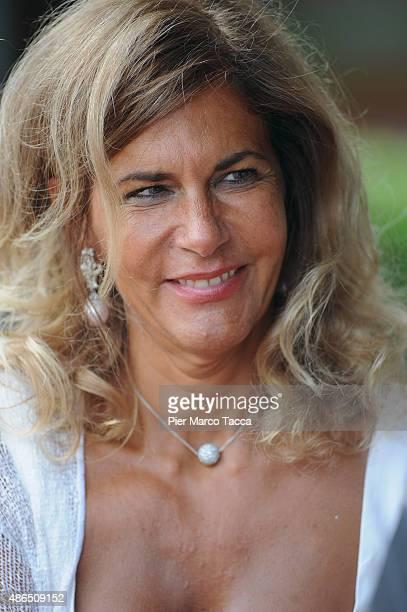 President of ENI Emma Marcegaglia attends the Ambrosetti international economic forum at villa d'Este hotel on September 4, 2015 in Cernobbio near...