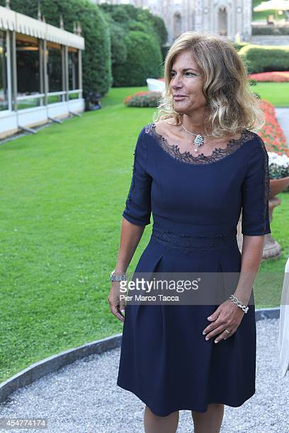 President of ENI Emma Marcegaglia attends the Ambrosetti International Economy Forum at Villa d'Este Hotel on September 5 2014 in Como Italy...
