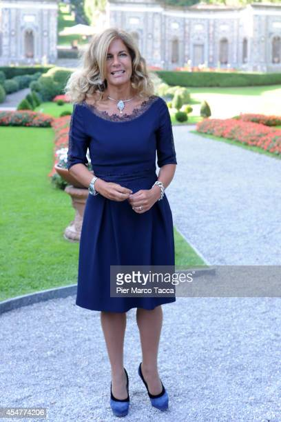 President of ENI Emma Marcegaglia attends the Ambrosetti International Economy Forum at Villa d'Este Hotel on September 5 2014 in Como Italy...