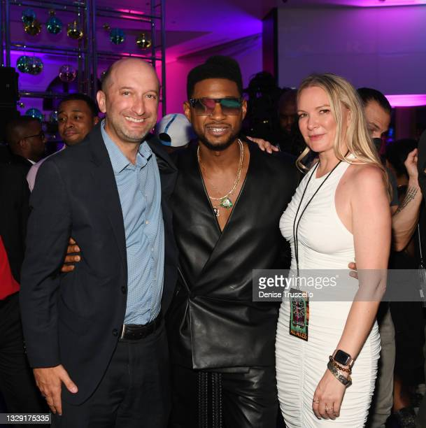 President of Entertainment at Caesars Entertainment Jason Gastwirth, Usher and Senior Vice President of Las Vegas Residencies for Live Nation Amanda...