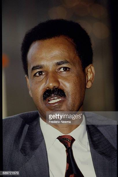 President of Eritrea Isaias Afewerki attends the Organisation of African Unity Summit in Cairo