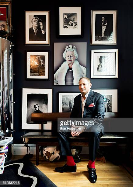 President of Estee Lauder John Demsey is photographed for WWD on August 9 2013 in New York City PUBLISHED IMAGE