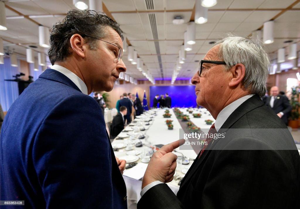 BELGIUM-EU-BRITAIN-POLITICS-SUMMIT-BREXIT : News Photo