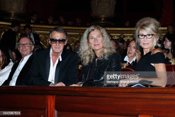 President of Fashion Activities at Chanel Bruno Pavlovsky Image Director at Chanel Eric Pfrunder his wife and Managing editor at Madame Figaro...