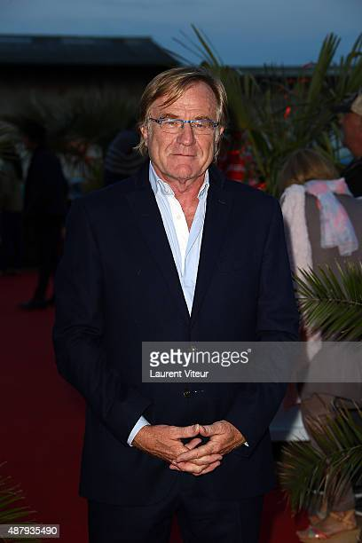 President of Festival Quentin Raspail attends the red carpet closing ceremony of the 17th Festival of TV Fiction At La Rochelle on September 12 2015...