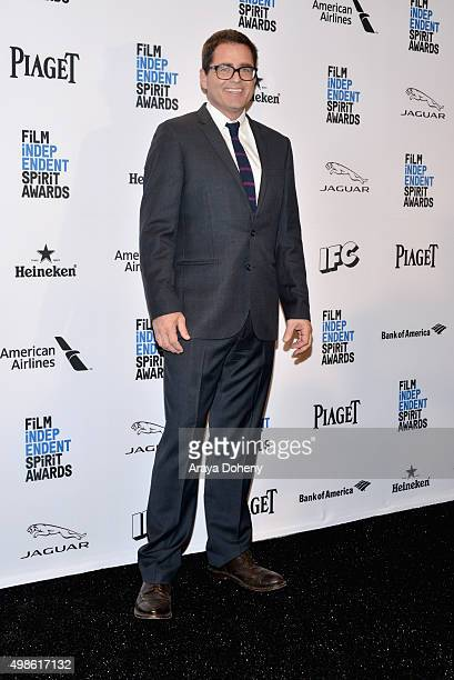 President of Film Independent Josh Welsh attends the 31st Film Independent Spirit Awards Nominations Press Conference at W Hollywood on November 24...