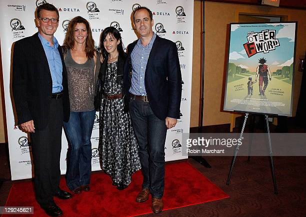 President of Fox Broadcasting Compay Kevin Reilly, producer Cristan Reilly, director Andrea Nevins and President of Entertainment Showtime David...