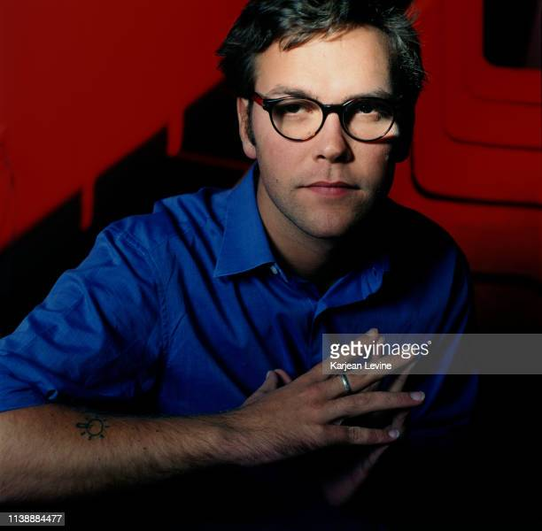 President of Fox Digital Publishing James Murdoch poses for a portrait on October 21, 1998 in New York City, New York.