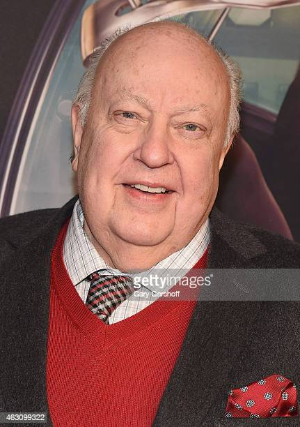 President of Fox News Channel and chairman of the Fox Television Stations Roger Ailes attends 'Kingsman The Secret Service' New York Premiere at SVA...
