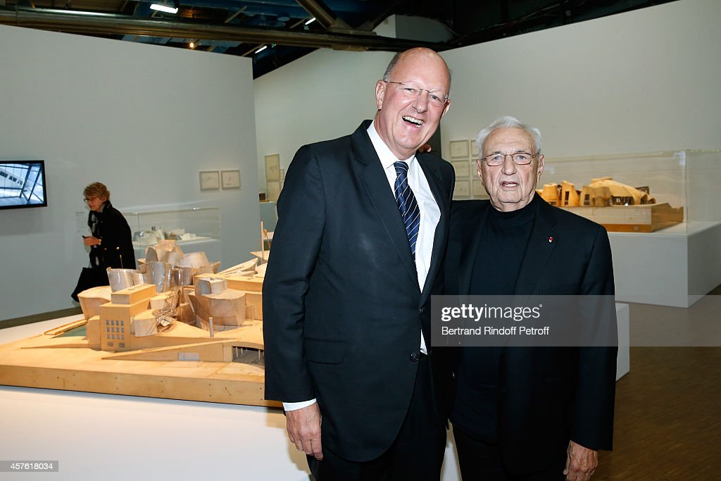 'Frank Gehry' :Exhibition At Centre Pompidou In Paris