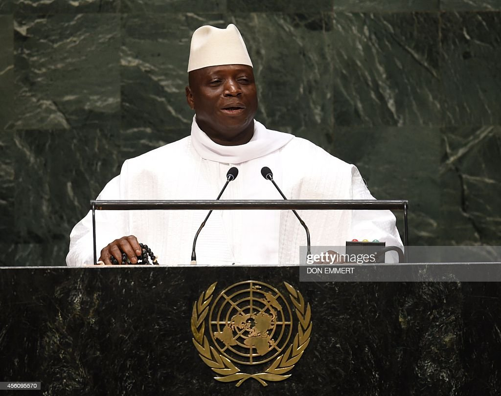 UN-GENERAL ASSEMBLY-GAMBIA : News Photo
