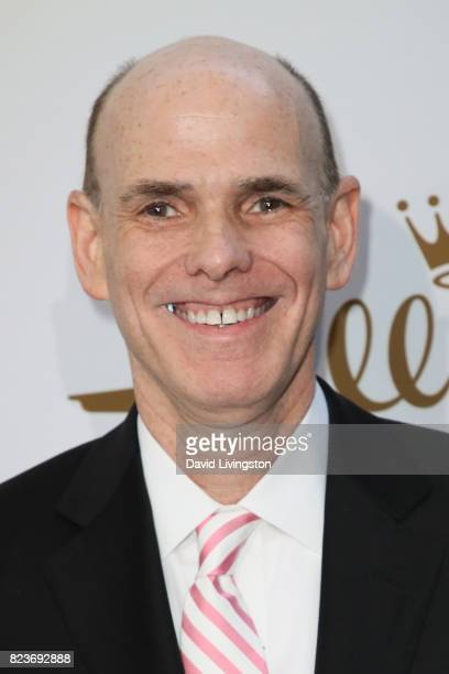 President of Hallmark William J Abbott attends the Hallmark Channel and Hallmark Movies and Mysteries 2017 Summer TCA Tour on July 27 2017 in Beverly...