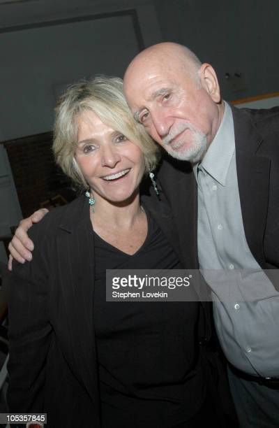 President of HBO Documentaries and Family Sheila Nevins and Dominic Chianese